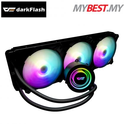 AIGO DARKFLASH TWISTER DX360 aRGB BLACK
