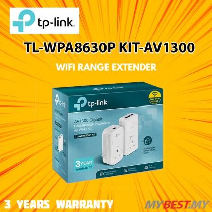 TP-Link TL-WPA8630P KIT - AV1300 Gigabit Passthrough Powerline ac Wi-Fi Kit