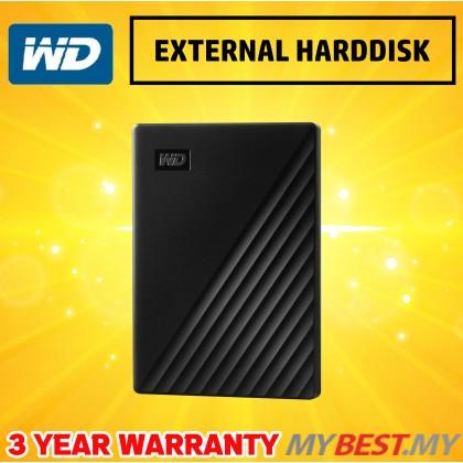 """WESTERN DIGITAL MY PASSPORT 2.5"""" 1TB USB3.0-BLACK (NEW)"""