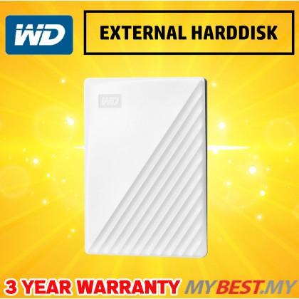 "WESTERN DIGITAL MY PASSPORT 2.5"" 1TB USB3.0-WHITE (NEW)"