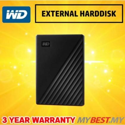 """WESTERN DIGITAL MY PASSPORT 2.5"""" 4TB USB3.0-BLACK (NEW)"""