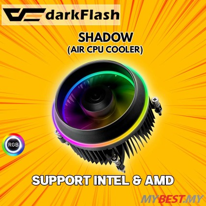 Aigo DarkFlash Shadow CPU cooler (For Intel LGA 115x) Aigo Dark Flash