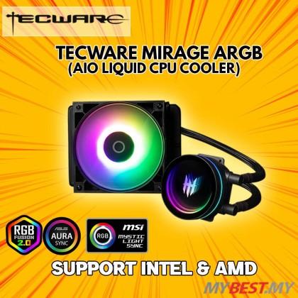 Tecware MIRAGE ARGB Liquid Cooling - AIO Cooler 120MM