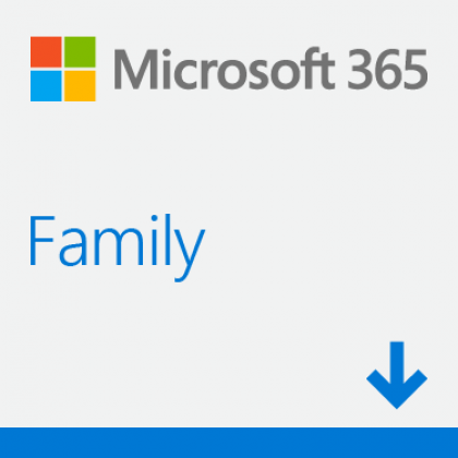 MICROSOFT 365 FAMILY (6 USER) (ESD - LICENSE KEY ONLY) *Formerly Office 365 Home