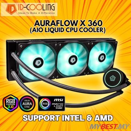 ID-COOLING AURAFLOW X 360 RGB AIO LIQUID COOLER 360MM