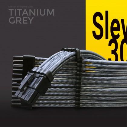 Aigo Slev.30 Premium Pre-Braided PSU Modding Cables (Sleeved PSU Extension Cables)