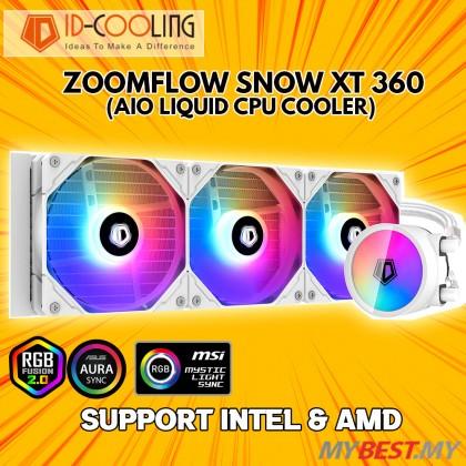 ID-COOLING ZOOMFLOW 360 XT SNOW ARGB 360MM AIO LIQUID COOLER