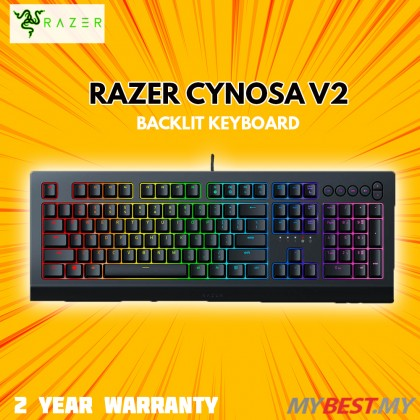RAZER CYNOSA V2 GAMING KEYBOARD (RZ03-03400100-R3M1)