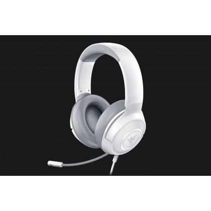 RAZER KRAKEN X - MERCURY WHITE WIRED HEADSET (RZ04-02890300-R3M1)