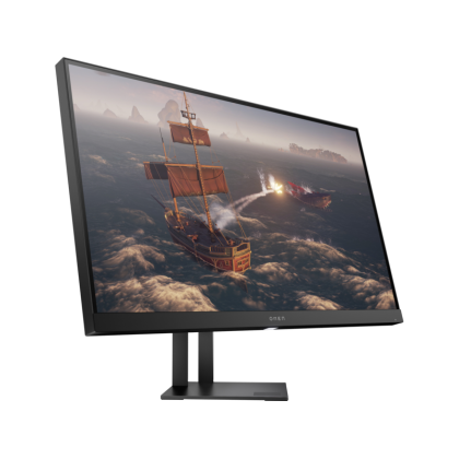 """HP Omen Gaming Monitor 27i - 27.0""""/1ms/165Hz DP/2K QHD 2560x1440/IPS Panel/HDMI/DP/Audio Out/USB 3.0/Height Adjustable/Flicker free/Low Blue Light/Free-Sync/G-Sync"""