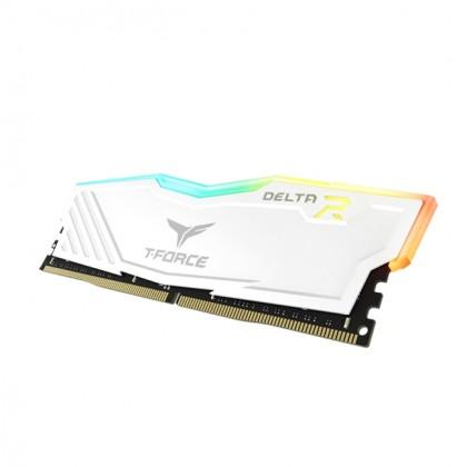 TEAMGROUP T-FORCE DELTA RGB WHITE 8GB DDR4 3200MHZ RAM (DESKTOP)
