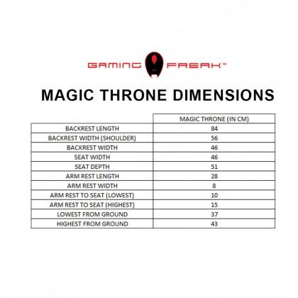 AVF MAGIC THRONE (GF-GCMT11-OR) ORANGE EDITION PROFESSIONAL GAMING CHAIR