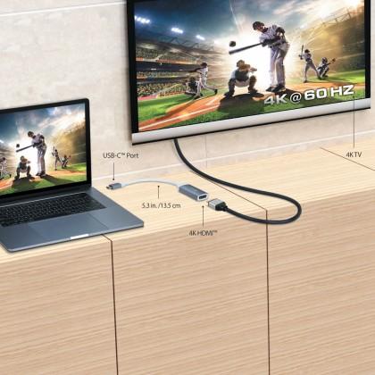 J5 CREATE USB TYPE-C TO 4K 60HZ HDMI ADAPTER (JCA153G)