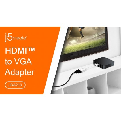 J5 CREATE HDMI TO VGA (JDA213S)