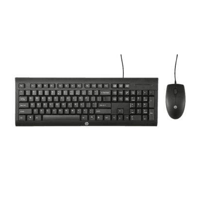 HP C2500 WIRED KEYBOARD & MOUSE COMBO