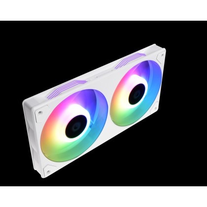 ID-COOLING ICEFAN 240 ARGB COOLING FAN (SNOW)