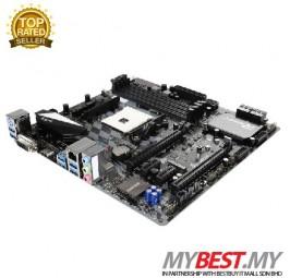 BIOSTAR X370GT3 AMD X370 SATA 6Gb/s USB 3.1 HDMI Micro ATX AMD Motherboard