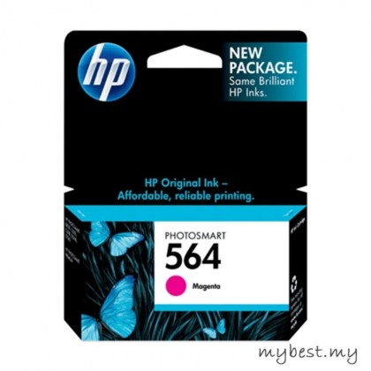 HP 564 Magenta Ink Cartridge (CB319WA )