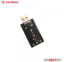 CLiPtec U-SOUND USB 7.1CH Virtual Sound Card BMA230