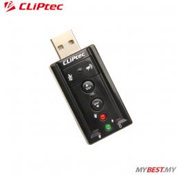 CLiPtec U-SOUND USB 7.1CH Virtual Sound Card BMA230