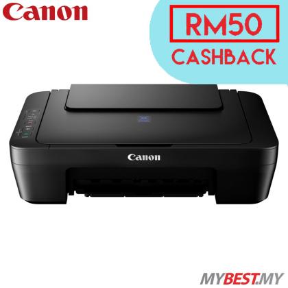 Canon Pixma E410 Color Inkjet Multifunction Printer (*CASH BACK RM50)