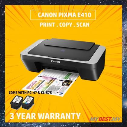 Canon Pixma E410 Color Inkjet Multifunction Printer