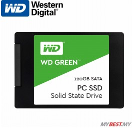 Western Digital 120GB Green PC SSD 2.5