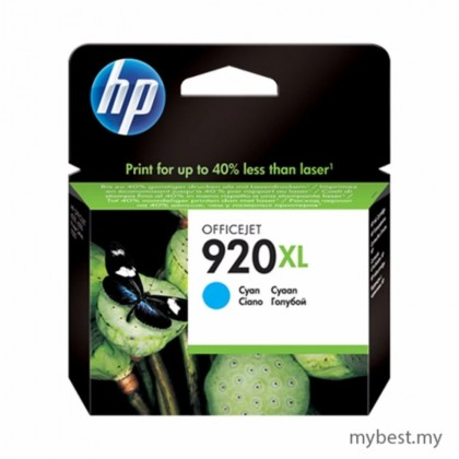 HP 920XL Cyan Ink Cartridge High Yield (CD972AA)