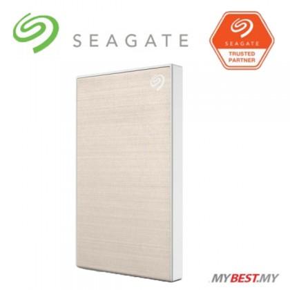 Seagate 1TB Backup Plus Slim External Hard Drive (GOLD)