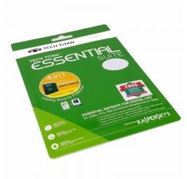 Tech Titan Essential Suite (4 in 1) - Kaspersky Anti Virus 2017 1 Device 1 Year