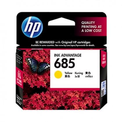 HP 685 Yellow Ink Cartridge (CZ124AA)