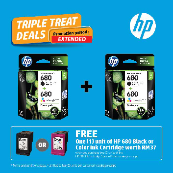 HP Ink Promotion Free Ink